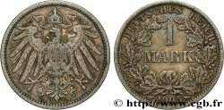 GERMANY 1 Mark Empire aigle impérial 2e type 1905 Berlin