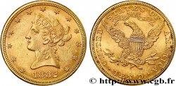 OR DINVESTISSEMENT 10 Dollars Liberty 1882 Philadelphie