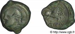 GALLIA BELGICA - MELDI (Regione di Meaux) Bronze ROVECA