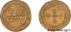 FRANCOIS I Écu dor au soleil du Dauphiné 1er type 21/07/1519 Romans
