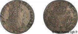 LOUIS XIV LE GRAND OU LE ROI SOLEIL Quart décu aux trois couronnes 1709 Lyon