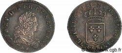 LOUIS XV THE WELL-BELOVED Tiers décu de France 1722 Rennes AU/AU