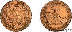 MEXICO - REPUBLIC 8 escudos en or 1836 D°, Durango VF