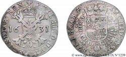 PAYS-BAS ESPAGNOLS - DUCHÉ DE BRABANT - PHILIPPE IV Patagon 1631 Bruxelles