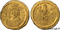 JUSTIN II Solidus au buste barbu