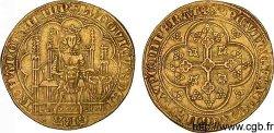 BRABANT - DUCHÉ DE BRABANT - LOUIS IV DE BAVIÈRE Chaise dor à laigle 1338 Anvers