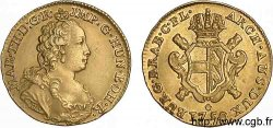 AUSTRIAN LOW COUNTRIES - DUCHY OF BRABANT - MARIE-THERESE Souverain dor, 2e type 1750 Anvers