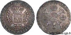 PAYS-BAS AUTRICHIENS - DUCHÉ DE BRABANT - FRANÇOIS Ier DE LORRAINE Kronenthaler ou couronne dargent 1765 Bruxelles, tête dange