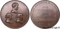 CONSULAT Médaille BR 68 pour la paix dAmiens SUP