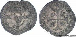 HENRY IV Douzain aux deux H, 2e type 1593 Saint-Lô AU