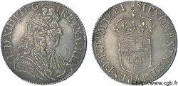 LOUIS XIV LE GRAND OU LE ROI SOLEIL Demi-écu à la cravate dit du Parlement 1681 Paris