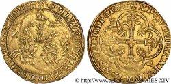 HAINAUT - COUNTY OF HAINAUT - GUILLAUME III OF BAVIÈRE Franc à cheval c. 1361/4