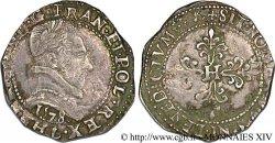 HENRY III Demi-franc au col plat 1578 Bayonne