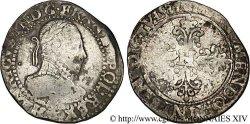 HENRY III Demi-franc au col plat 1587 Tours