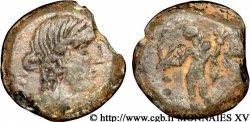 ESPAGNE - CORDUBA (Province de Cordoue) Quart d'unité de bronze ou quadrans (PB, Æ 19)