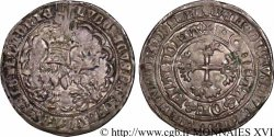 COUNTY OF FLANDRE - LOUIS OF MALE Double gros ou Botdraeger c. 1366-1384 Gand ou Malines