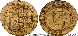 ESPAGNE - ROYAUME DESPAGNE - JEANNE ET CHARLES Écu d'or, escudo n.d. Séville