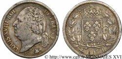 1/2 franc Louis XVIII 1817 Rouen F.179/10 F