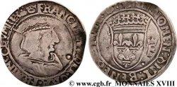 FRANCOIS I Teston, type inédit (15/16e type) n.d. Saint-Pourçain