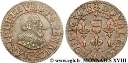 BERRY - PRINCIPALITY OF BOISBELLE-HENRICHEMONT - MAXIMILIAN OF BÉTHUNE, DUKE OF SULLY Double tournois, type 1 XF