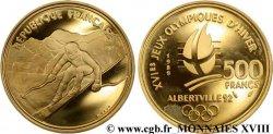 500 francs or Albertville, ski alpin n.d. Paris F.1801 1 UNC