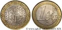 EUROPEAN CENTRAL BANK 1 euro France, frappe monnaie 1999 Pessac
