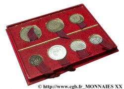 FRANZÖSISCHE UNION - IV. REPUBLIK Boîte de 7 essais des colonies françaises 1950-1951 Monnaie de Paris fST