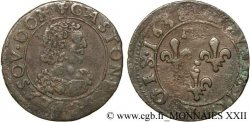 PRINCIPAUTY OF DOMBES - GASTON OF ORLEANS Double tournois, type 13