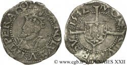 TOWN OF BESANCON - COINAGE STRUCK IN THE NAME OF CHARLES V Blanc XF