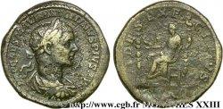 ELAGABALUS Sesterce, (GB, Æ 33)