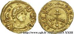 VIVIERS (VIVARIA CIVITAS) - Ardèche Triens de 7 siliques au nom dHéraclius (610-641)
