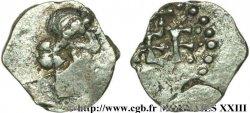 MONETE DELLO MEROVINGI - MARSEILLES (MASSILIA) Denier, patrice Nemfidius