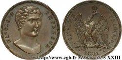 Module de 100 francs, essai de Vassallo 1807 Gênes Maz.602 b EF