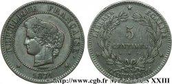 5 centimes Cérès 1871 Bordeaux F.118/3 XF