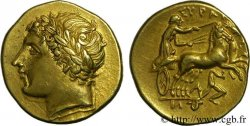 SICILY - SYRACUSE Drachme d'or, décadrachme ou 60 litrai