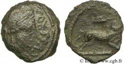 TURONES (Regione di Touraine) Bronze AGVSSROS au sanglier VF