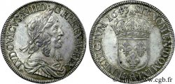 LOUIS XIII Demi-écu, 3e type, 2e poinçon de Warin 1643 Paris