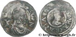 AXOUM - REGNO DI AXOUM - OUSANAS Monnaie d'argent aux portraits