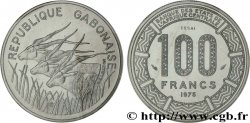 "GABON Essai de 100 Francs antilopes type ""BEAC"" 1975 Paris"