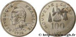 NEW CALEDONIA Essai de 100 francs 1976 Paris UNC