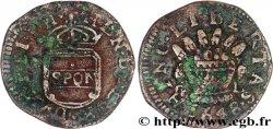 ITALIE - NAPLES - HENRI DE GUISE 2 tornesi 1648 Naples VF