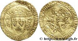 LOUIS XI THE CAUTIOUS Écu dor à la couronne ou écu neuf 31/12/1461 Perpignan