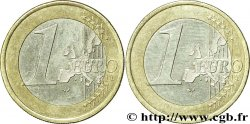 EUROPEAN CENTRAL BANK 1 euro, double face commune n.d.