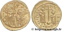 CONSTANS II, CONSTANTIN IV, HÉRACLIUS et TIBÈRE Solidus