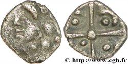 GALLIA - SOUTH WESTERN GAUL - VOLCÆ TECTOSAGES (Area of Toulouse) Obole à la croix, S. 424 VF/AU