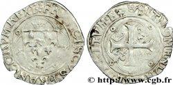 FRANCOIS I Grand blanc à la couronne, 1er type 23/01/1515 Lyon