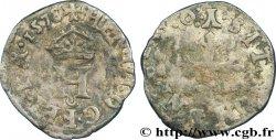 HENRI III Liard à lH couronnée 1578 Bourges