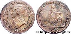 LUIGI XVII Médaille pour la mort de Louis XVII