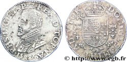SPANISH LOW COUNTRIES - TOURNAI - PHILIPPE II OF SPAIN Demi-écu philippe ou demi-daldre philippus 1586 Tournai