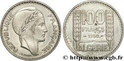 ALGÉRIE - QUATRIÈME RÉPUBLIQUE Essai de 100 francs Turin 1950 Paris SUP  55